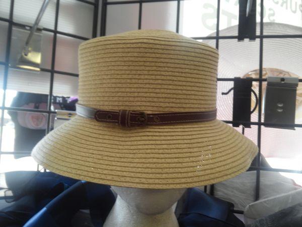 Beige Straw Hat #3293