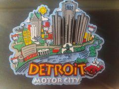 Detroit Image Magnet #3904