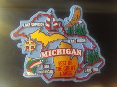 Best of Michigan Magnet #3907