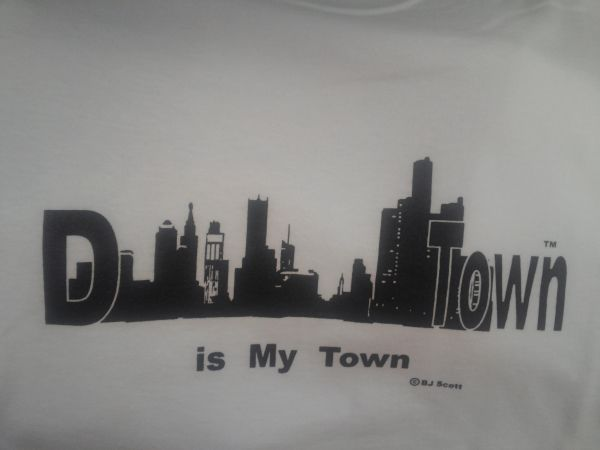 White/Black DTown Shirt #4019