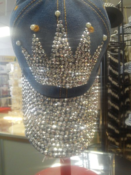 Dark Crown Denim Cap #1435