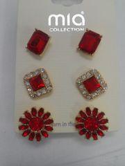 3 Pr Earrings Set 5831