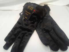 Black Thinsulate Gloves 5855