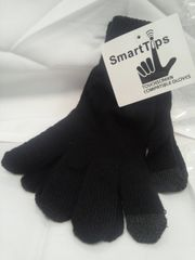 Black Smart Tips Gloves 5856
