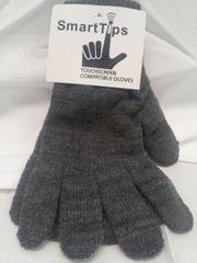 Gray Smart Tips Gloves 5857