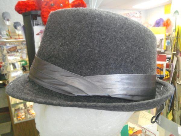 Gray Fedora 5863