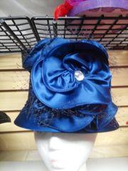 Navy Dressy Hat 5874