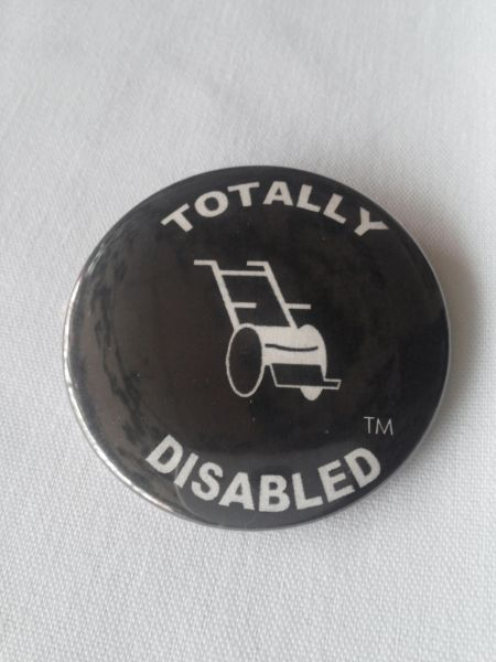 Totally Disabled Button 1935