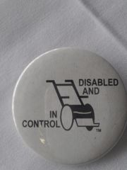 Disabled and in Control Button 1936