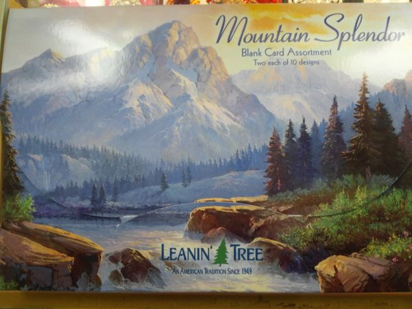 Mountain Splendor Greeting Cards #2702