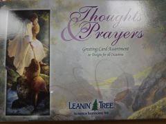 Thoughts and Prayers Greeting Cards #2703