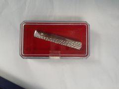 Dressy Silver Tie bar M18