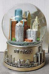 Detroit 2 Small Globe S04