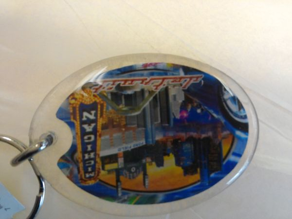 Detroit Collage Keychain #DCK