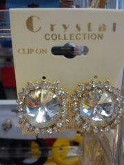 Clear Earrings CL1