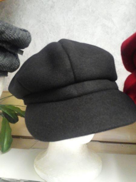 Black Cabby Hat