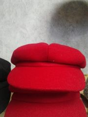 Red Cabby Hat