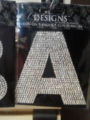 """Bling Letter """"A"""" BL"""