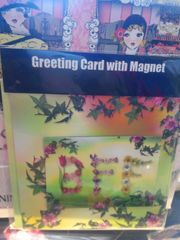 BFF Birthday Card with Magnet #2672