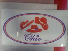 XLarge Ohio Window Cling XOWC