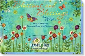 Blossoms and Blessings 20 Cards Assortment 2498