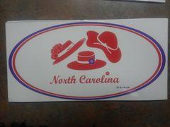 North Carolina Window Cling NCWC