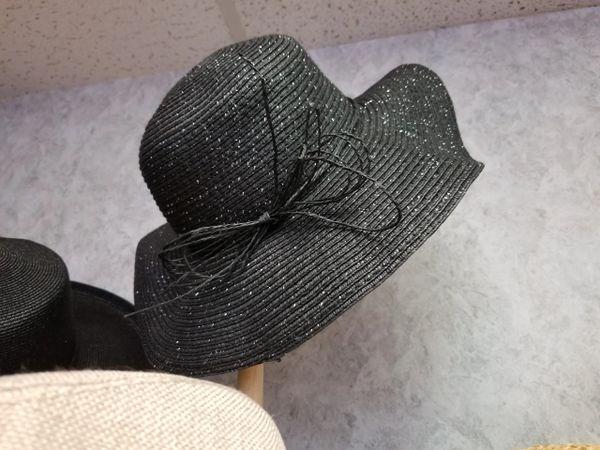 Black Floppy Hat 418213