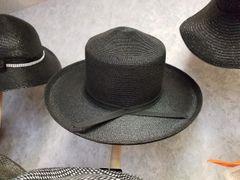 Black Straw Hat 418216