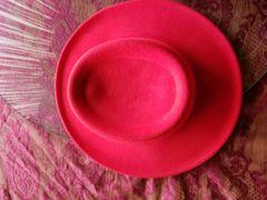 Red Wool Cowboy Hat 418242