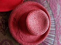 Red Straw Hat 418243
