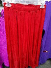 Red Slinky Skirt