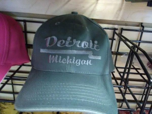 Detroit Cap-Olive DetCO