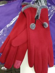 Red Screen Touch Gloves RSTG