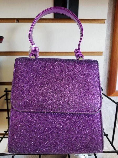 Purple Glitter Purse PGP