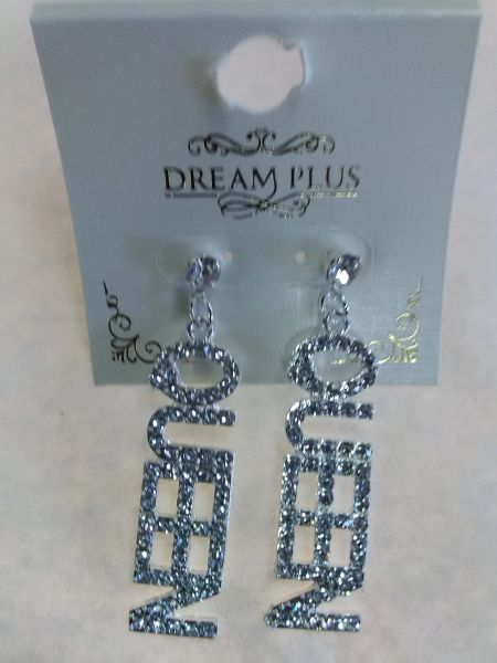 Clear Queen Earrings CQE