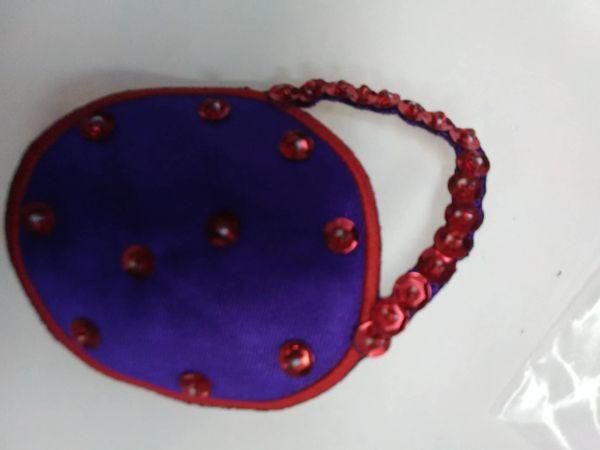Round Purple Purse RoPP