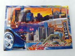 Detroit Collage Magnet