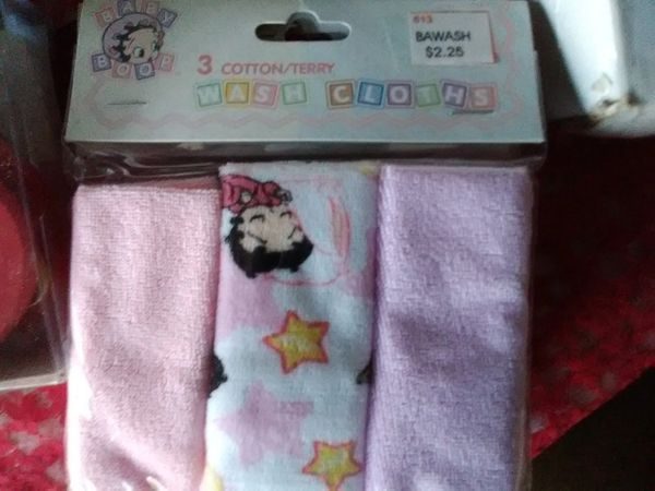BB Baby Wash Cloth boop42