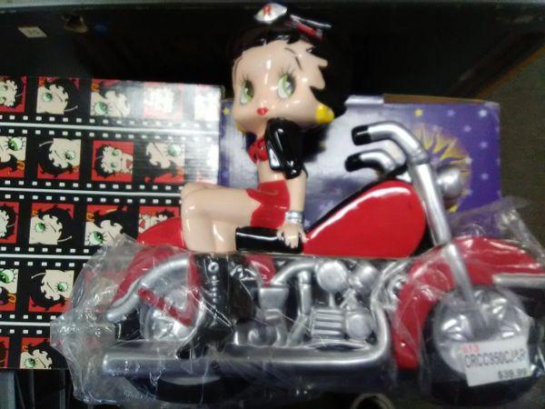 Betty Boop Biker Cookie Jar boop130