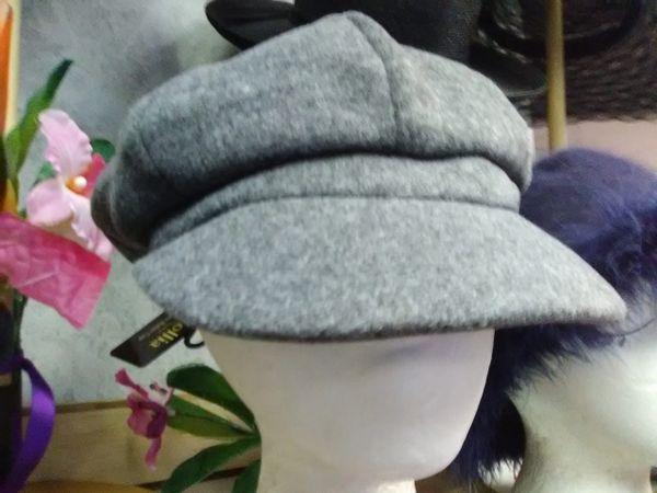 Women Grey Cabby Hat WGCH