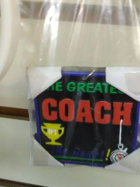 Coach Keychain CK