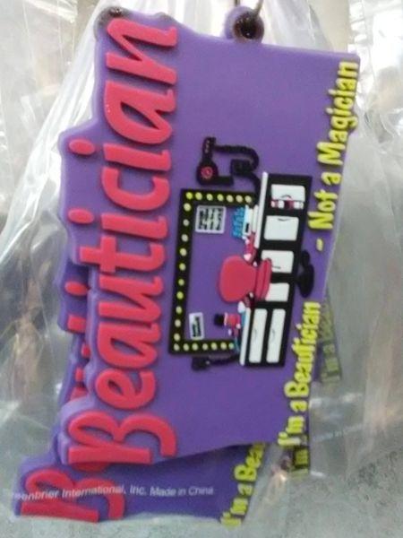 Beautician Keychain BK