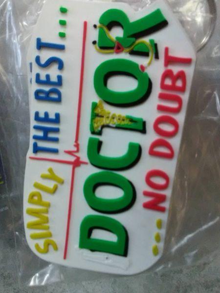 Doctor Keychain DK