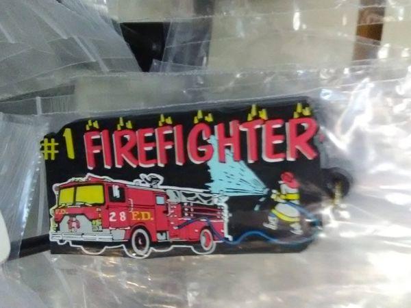 Fireman Keychain FK