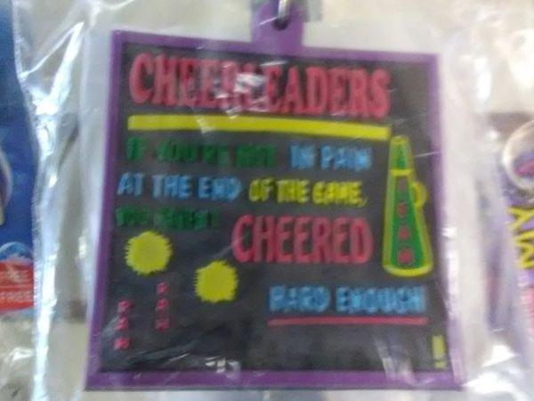 Cheerleader Keychain CK