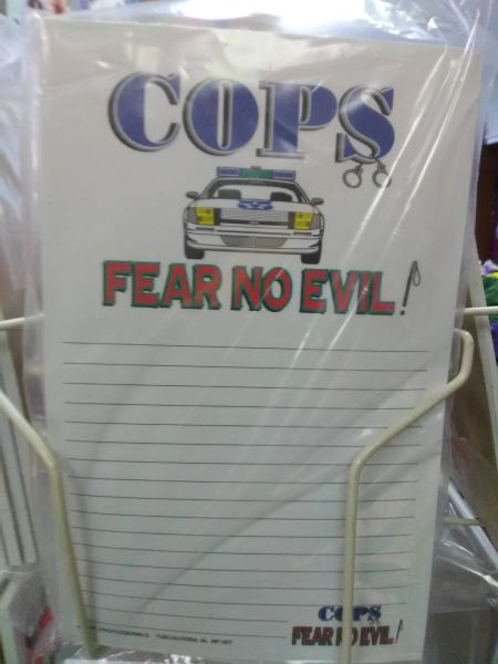 Cops Notepad CN