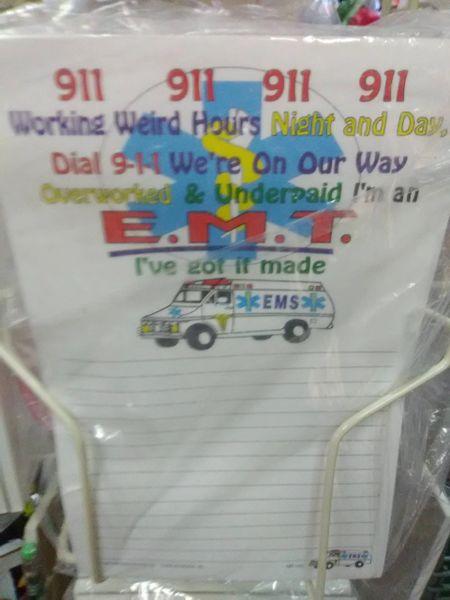 911 Notepad 9N