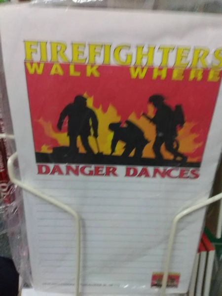 Firefighter Walk Notepad FWN