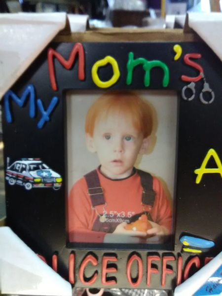 Mom's is a Police Office Frame MPOF
