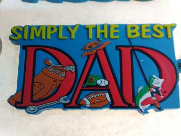 Dad Keychain DK